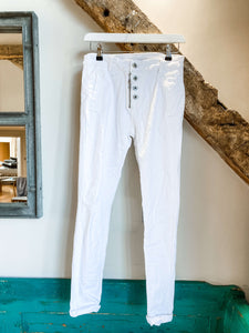 Melly & Co Jeans | White