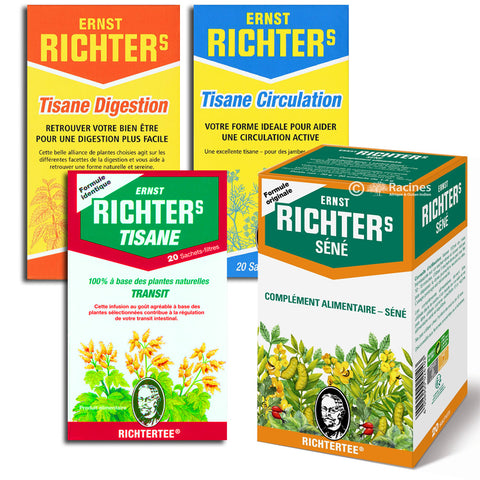 Tisane Richter's Transit Infusion Thé digestion circulation