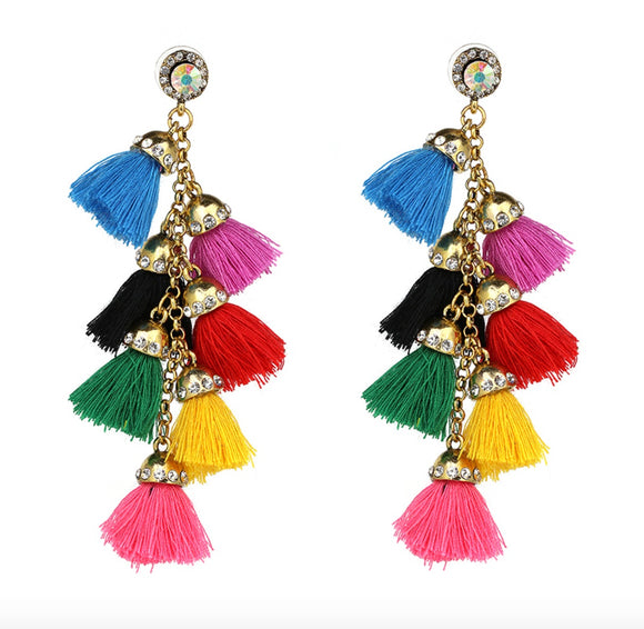 Bora Bora Tassel Earrings