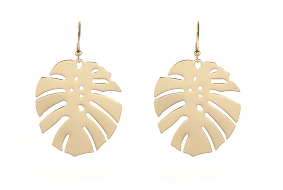 Montego Palm Earrings