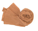 Pleated Chiffon