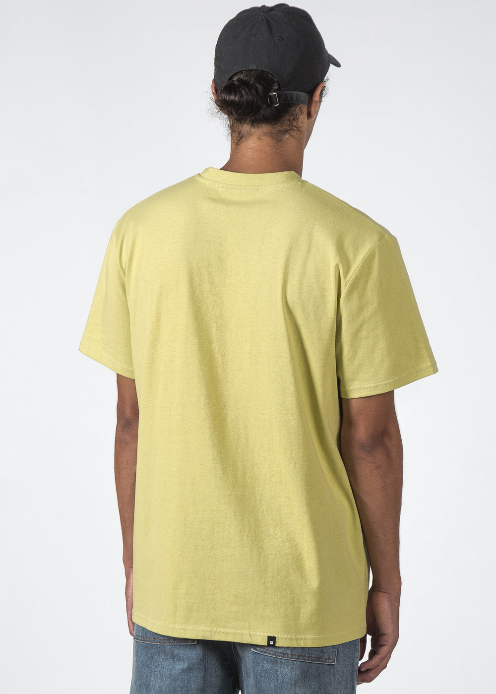THE MID TEE YELLOW BOXED