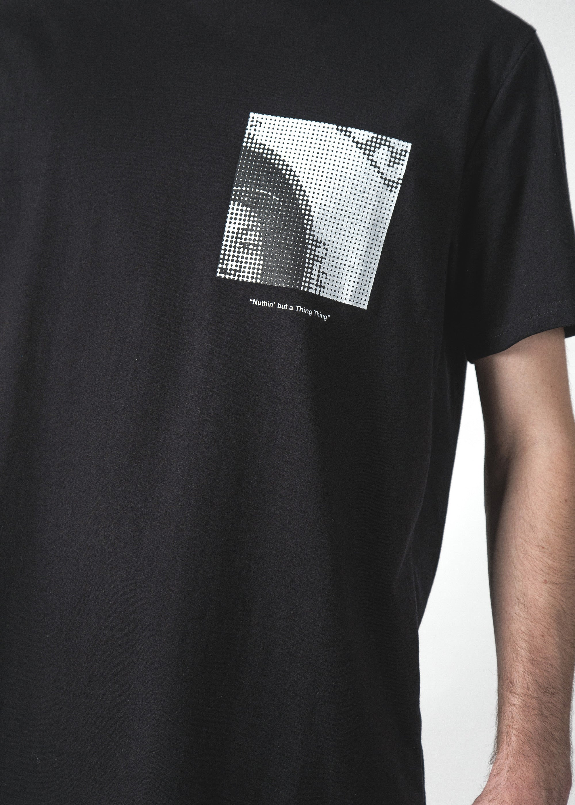 G THING MID TEE BLACK