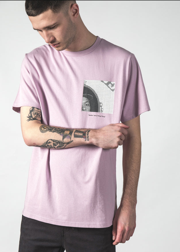 G THING MID TEE LILAC
