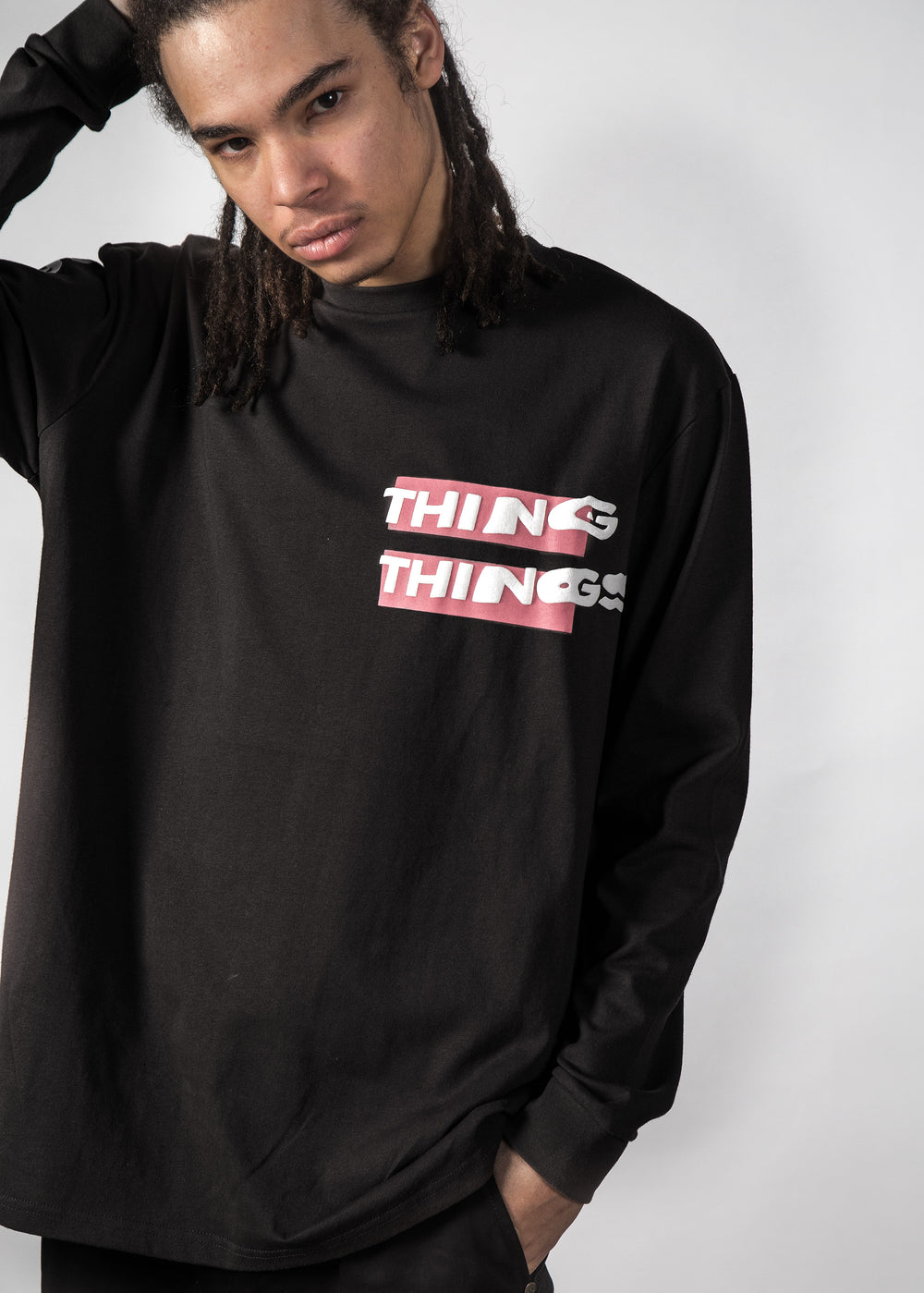 WARP LONG SLEEVE BLACK