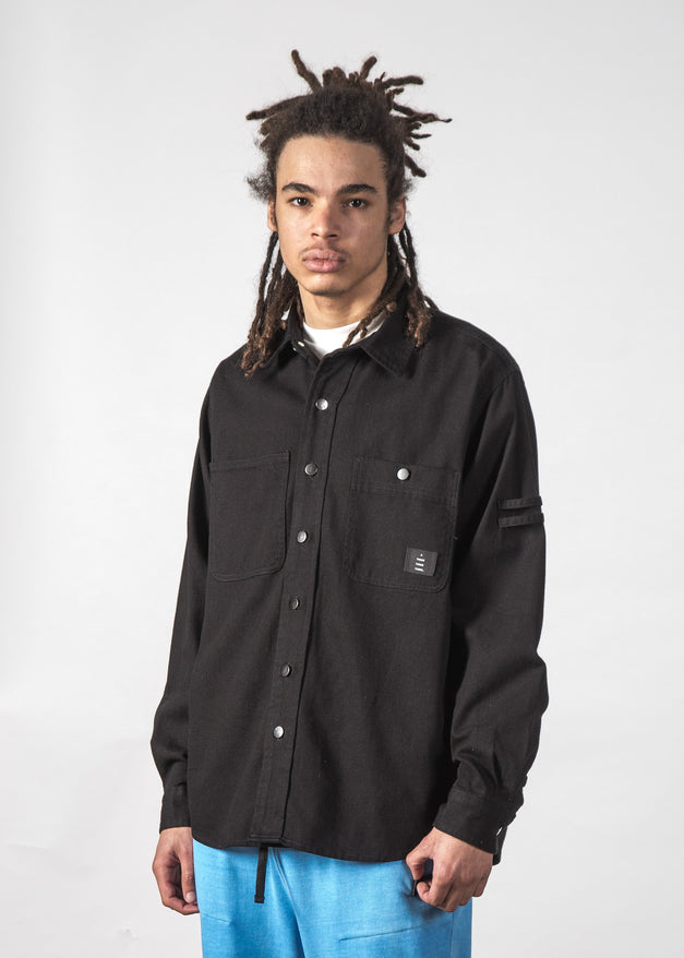 COPELAND SHIRT BLACK WASH