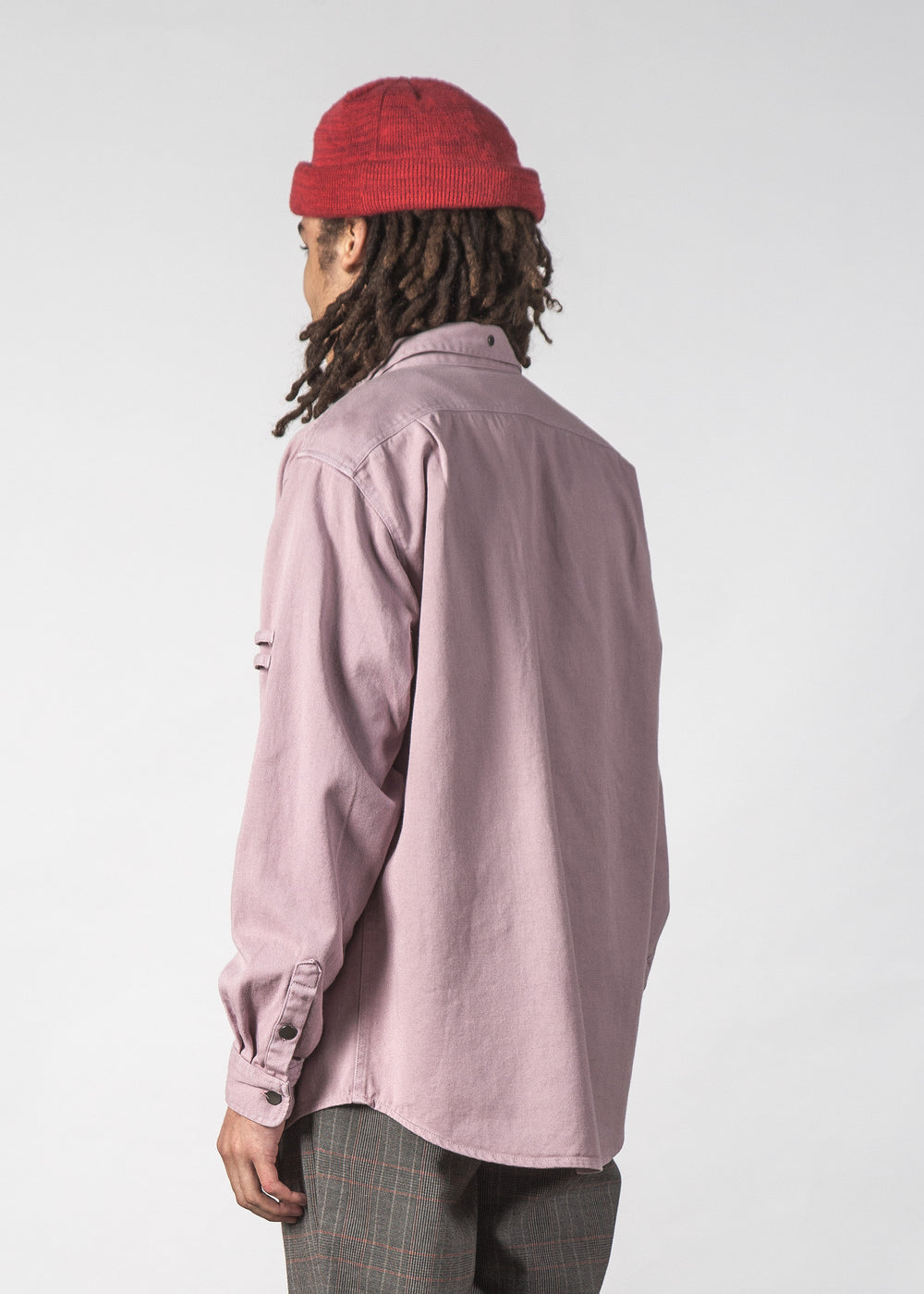 COPELAND SHIRT FADED PINK