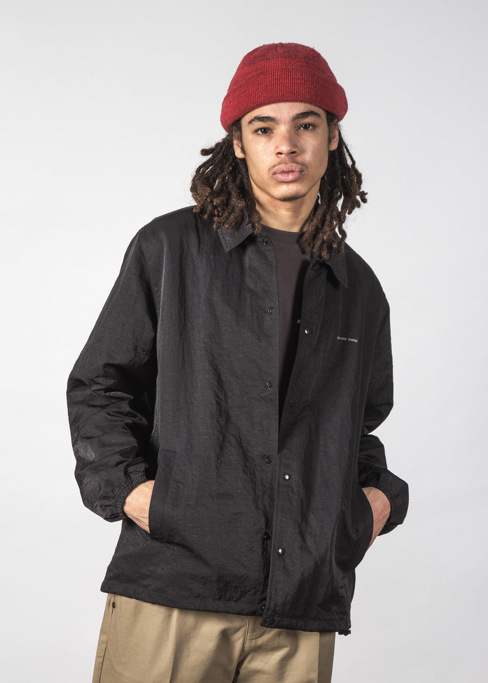 STATE COACH JACKET BLACK