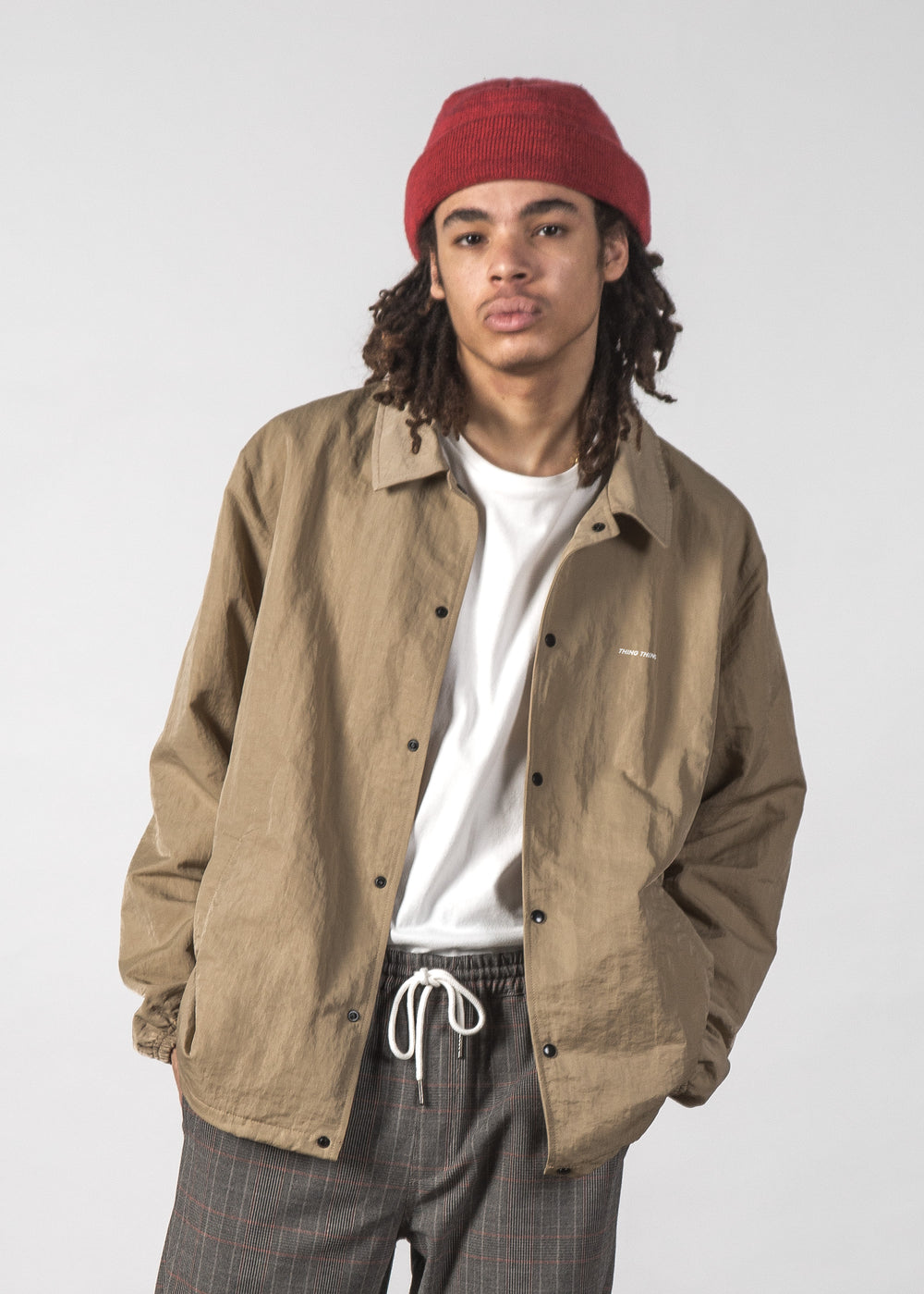 STATE COACH JACKET TAN
