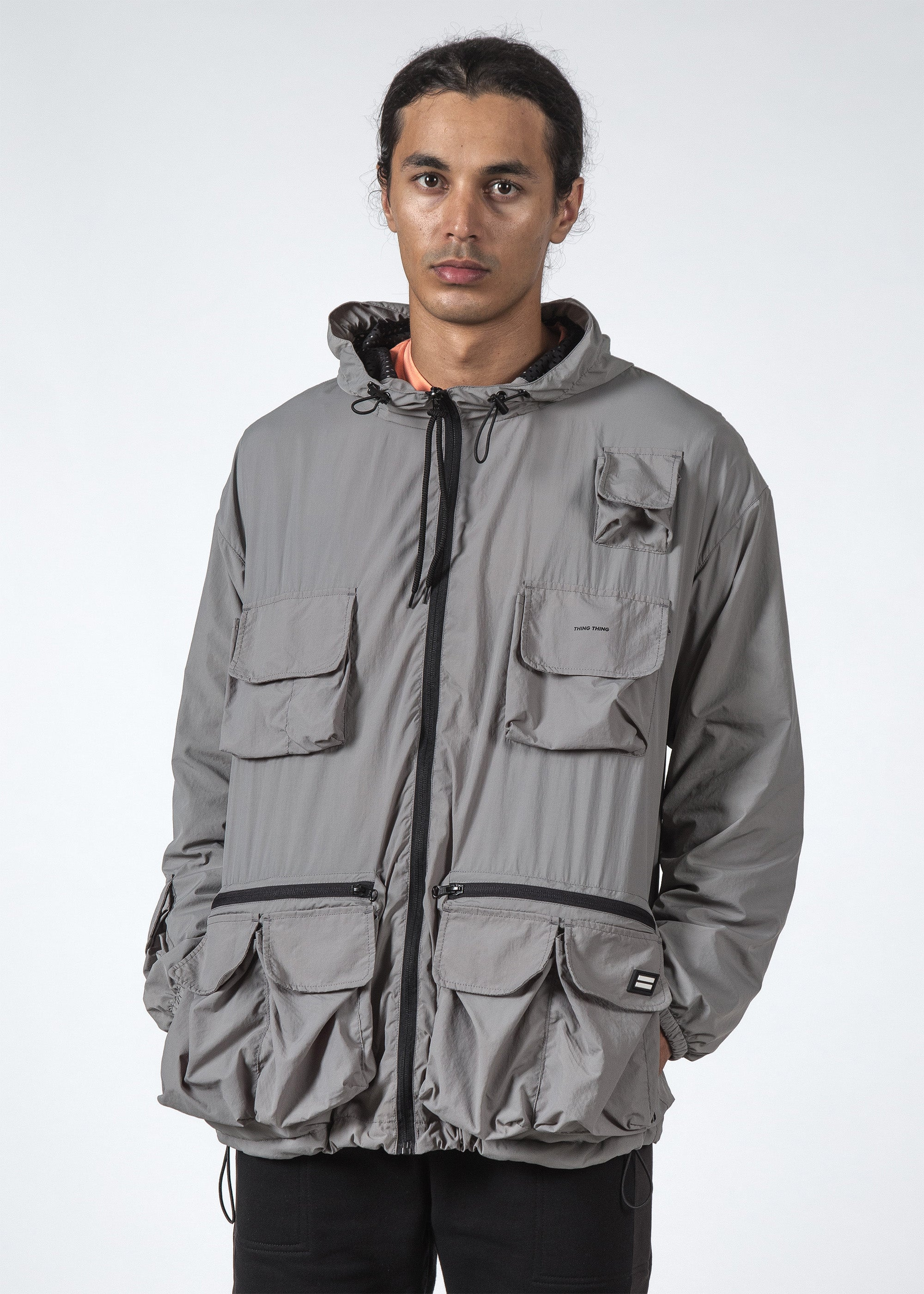 THE CASE JACKET GREY