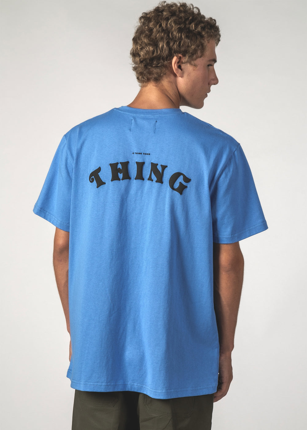 SALE - ATTT ARC SS TEE - Blue ATTT Arc