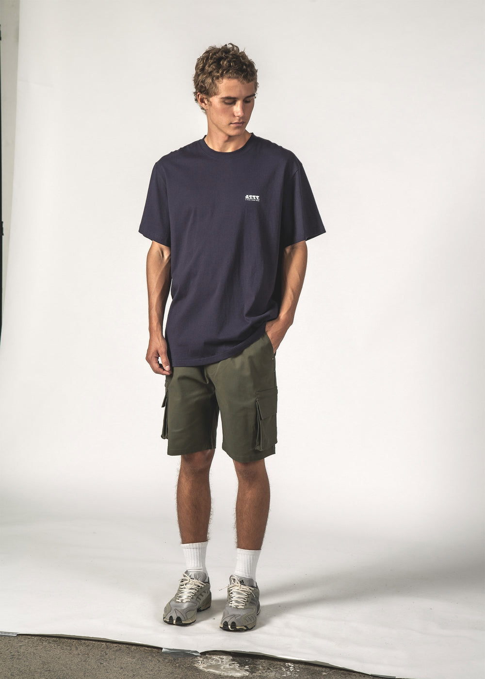 ATTT ARC SS TEE - Navy ATTT Arc