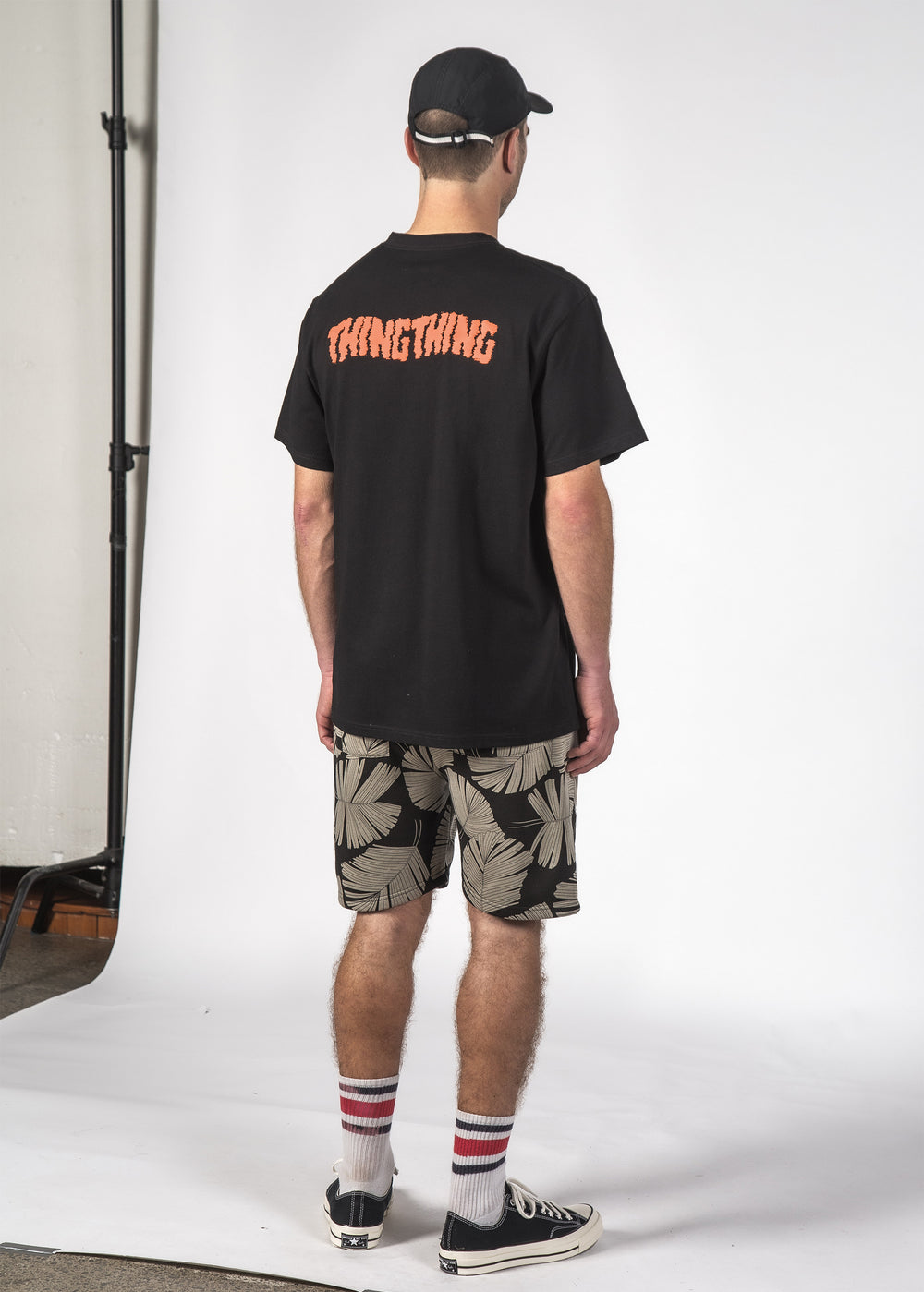 STAGGER S/S TEE BLACK