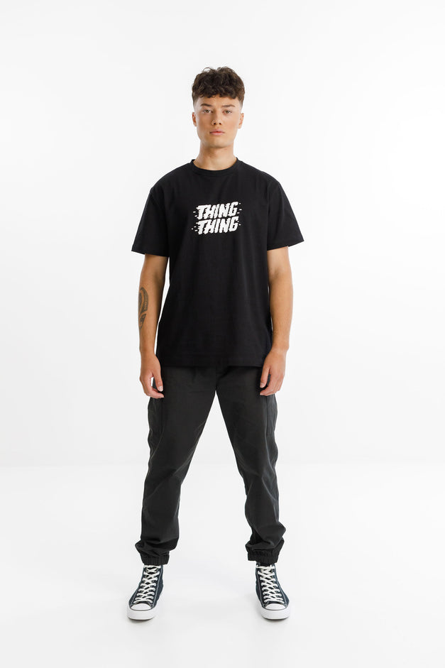 GROUND CARGO PANT - Black