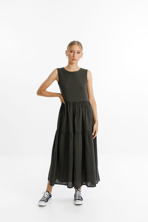 POPPY DRESS LONG - Forrest