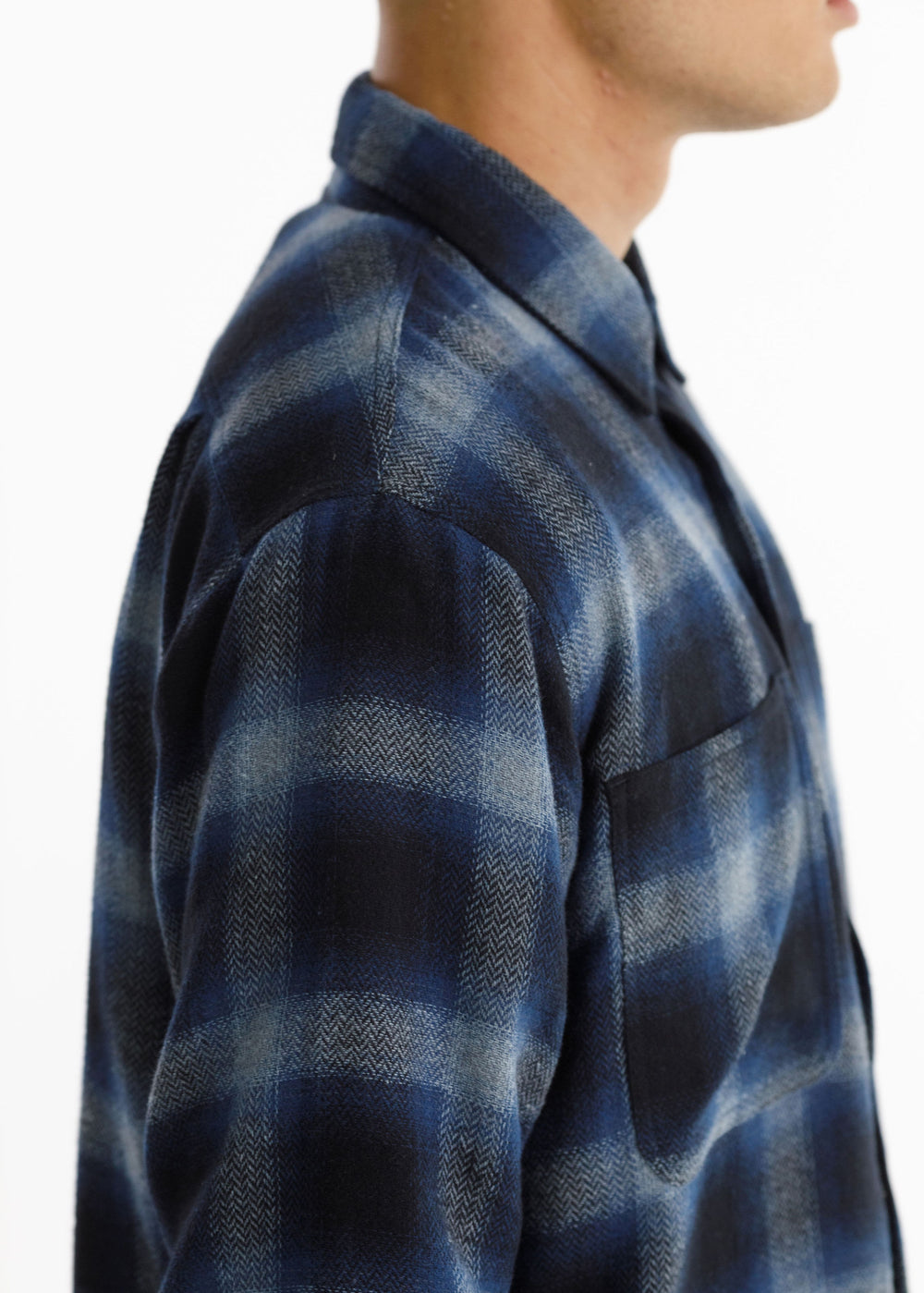 BUSCEMI SHIRT - Blue Check