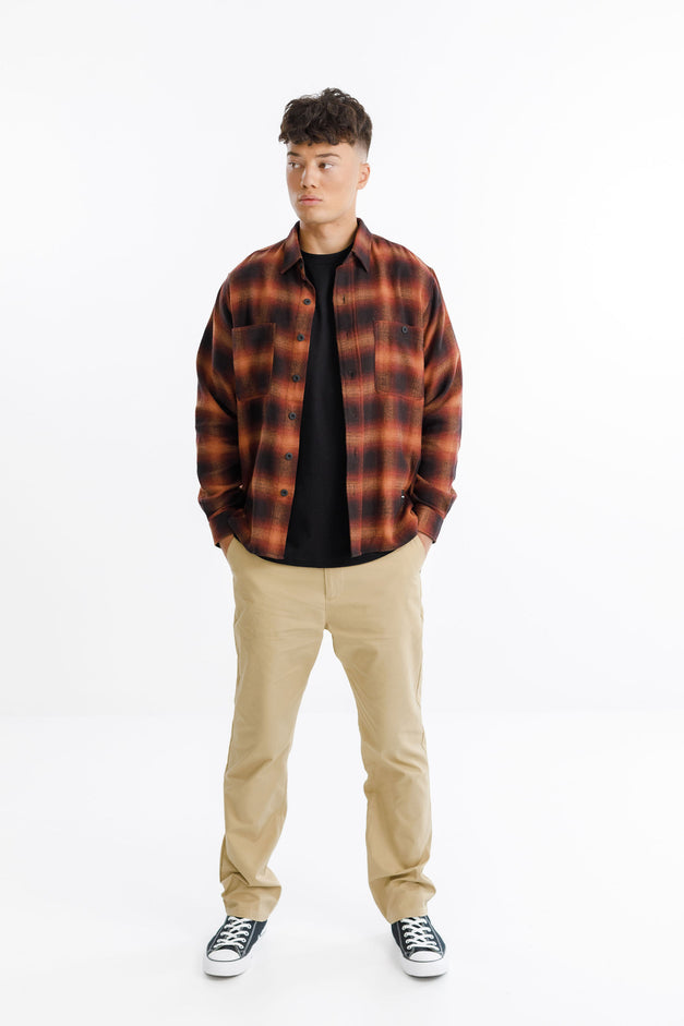 BUSCEMI SHIRT - Red Check