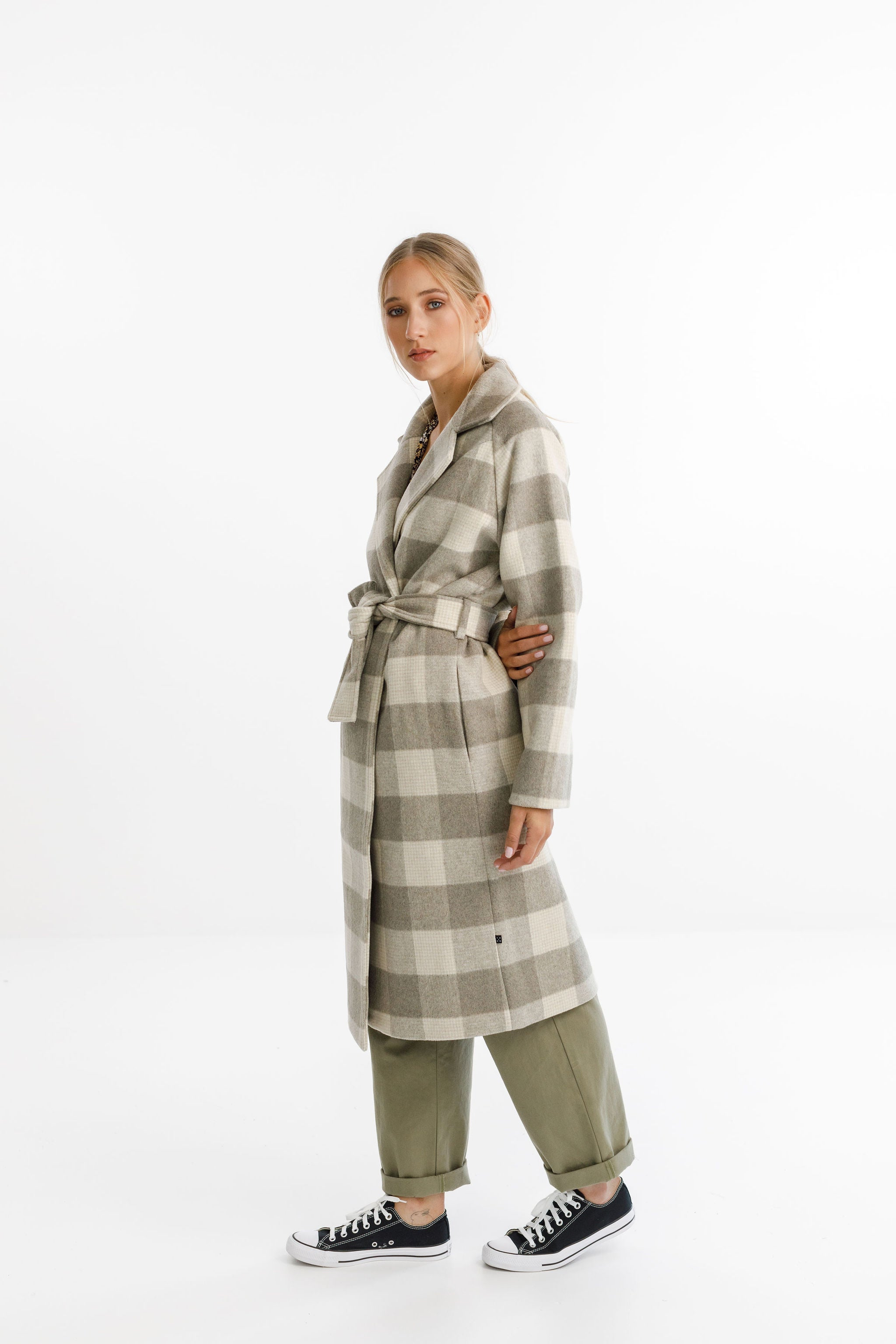 CLEMENT COAT - Soft Check