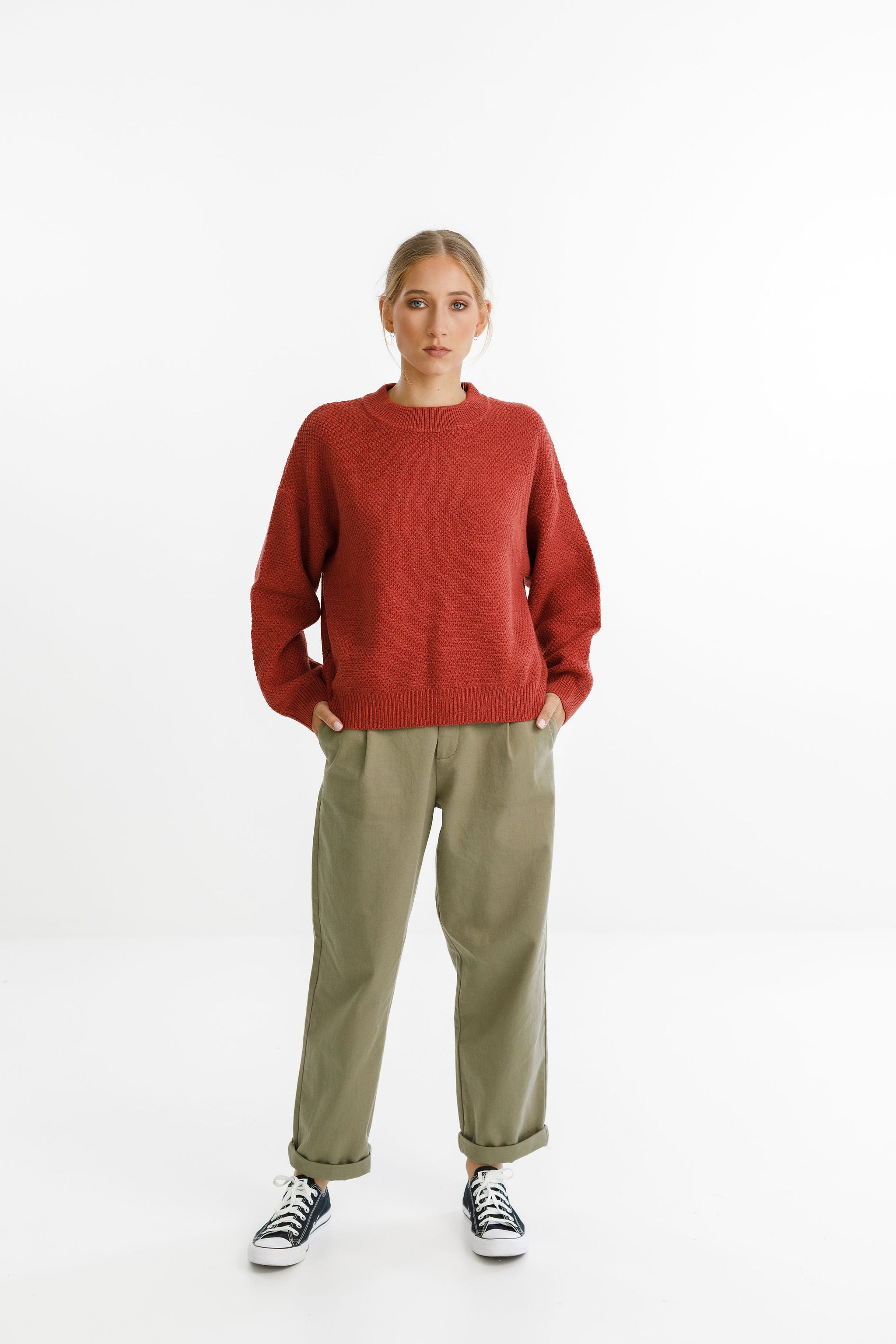 MARCELLA KNIT - Red