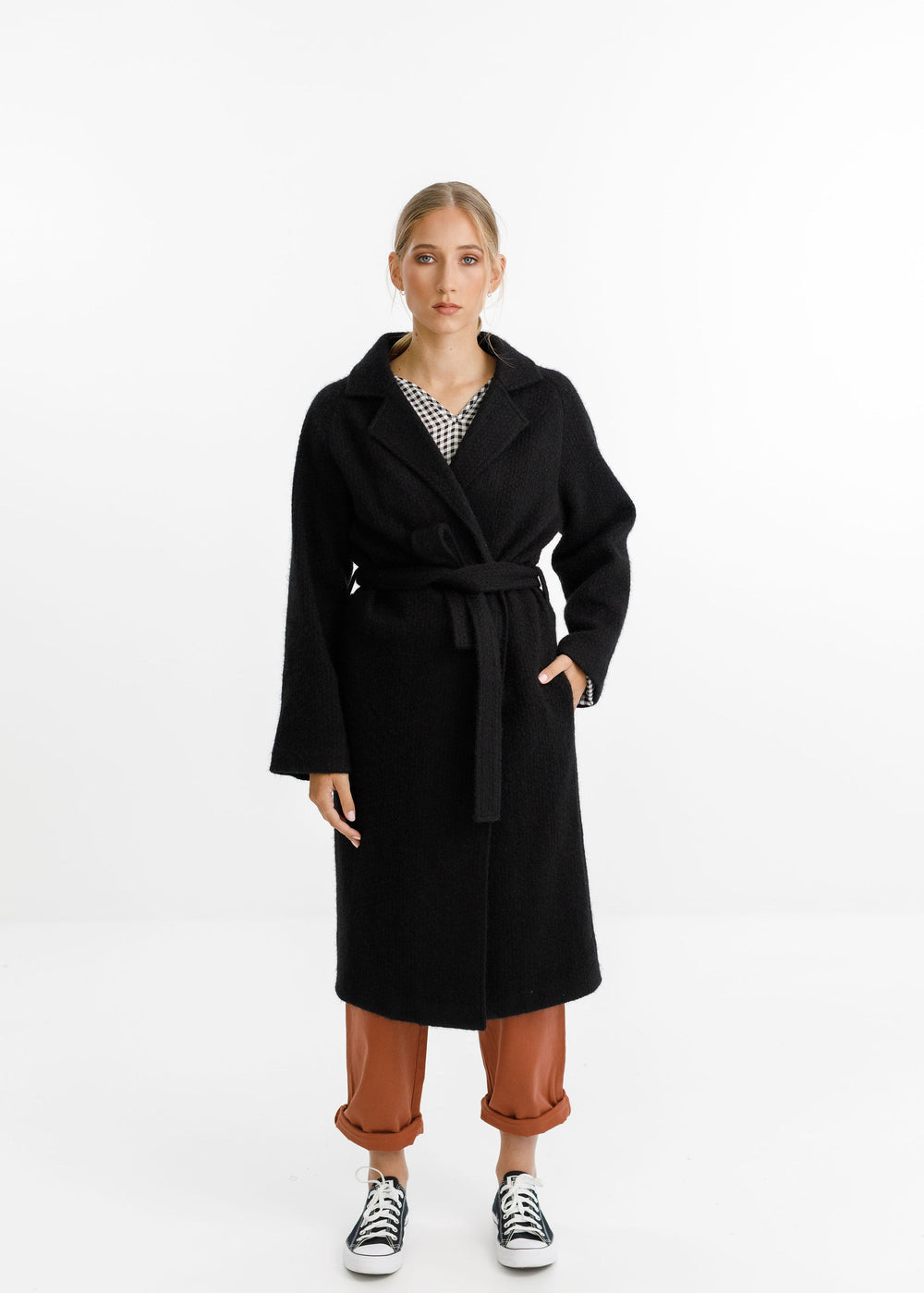 CLEMENT COAT - Black