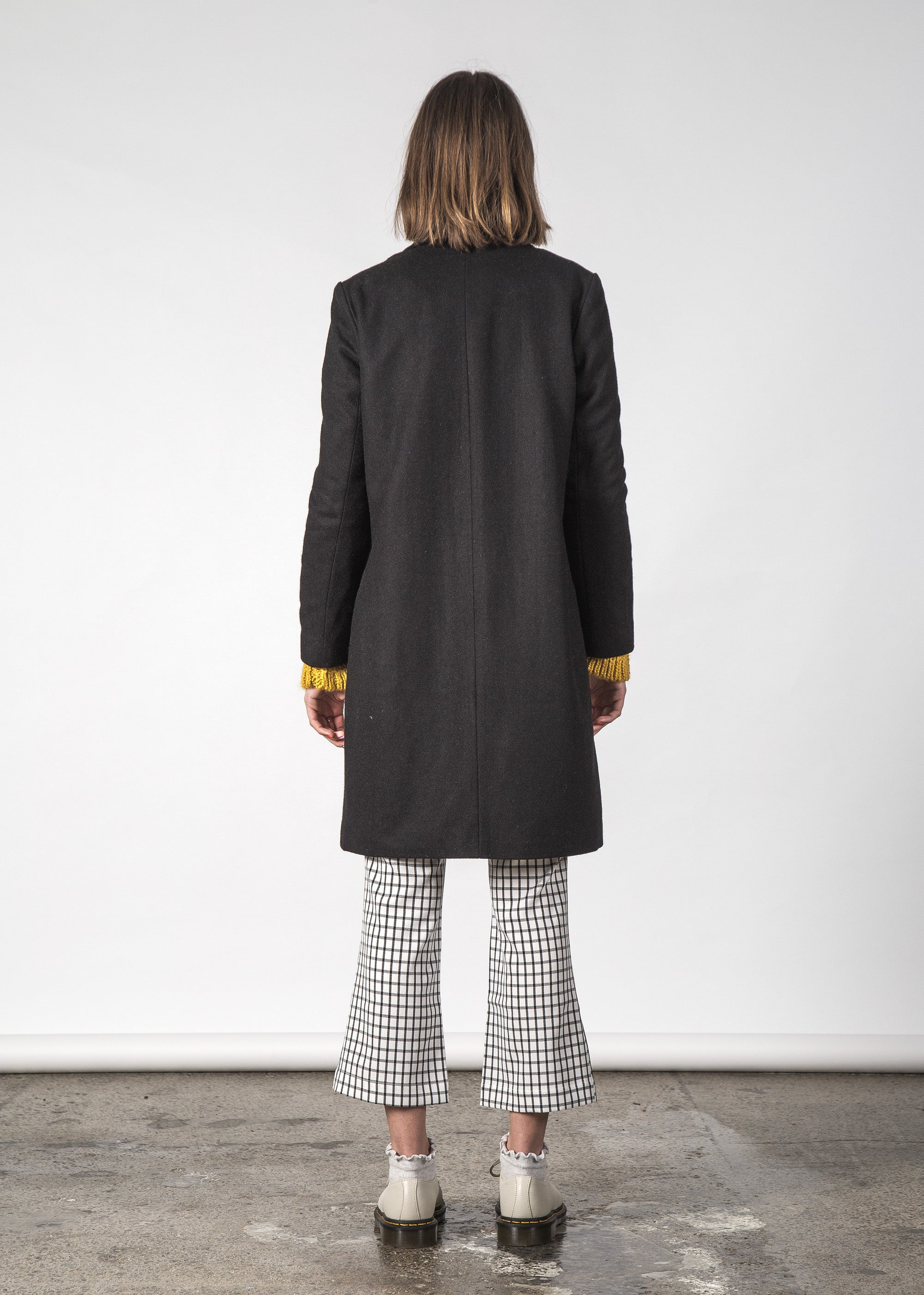 FLOSS COAT BLACK