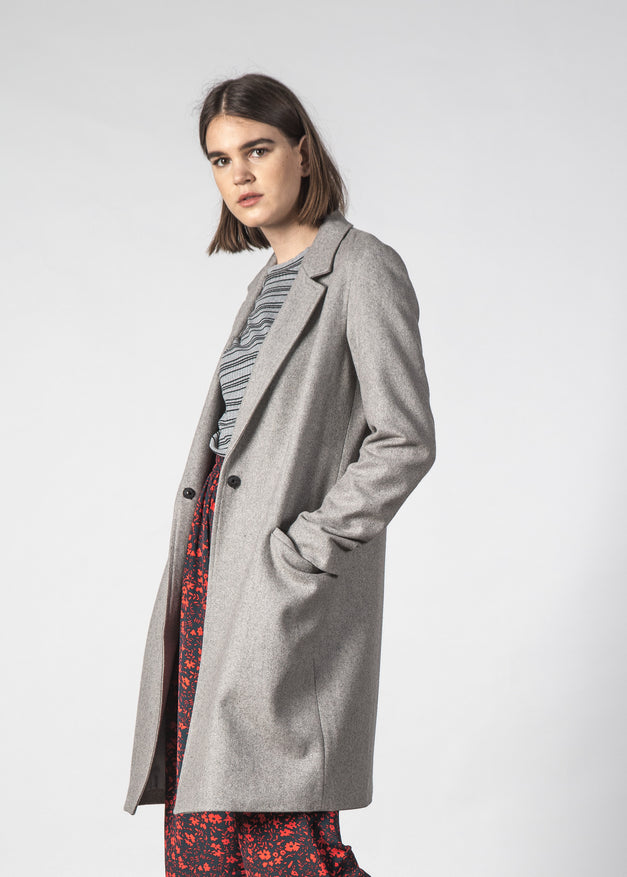 FLOSS COAT GREY MARL