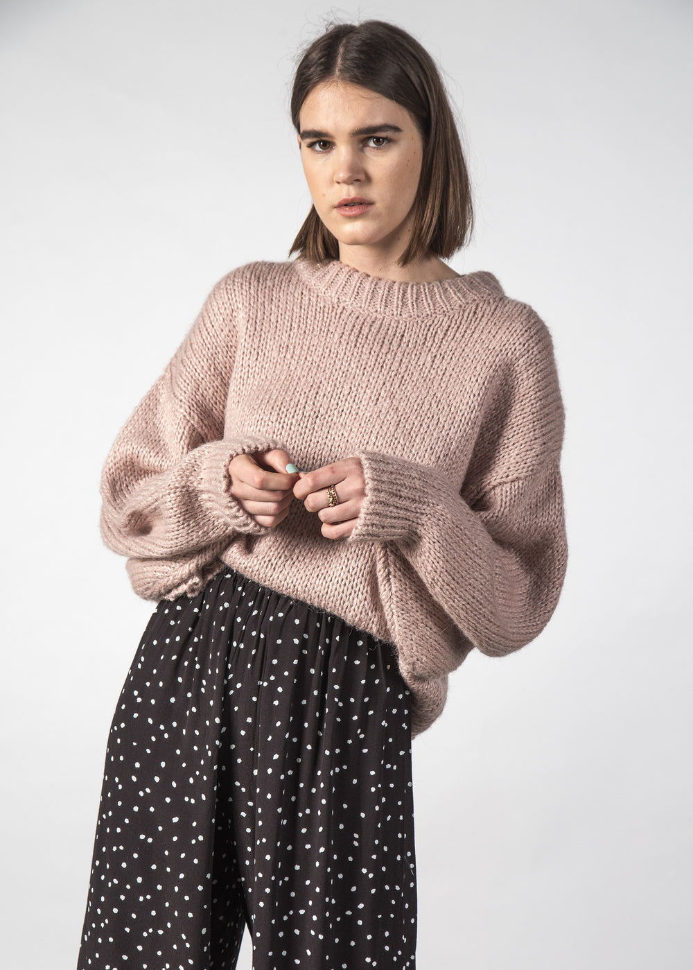 CLEO SWEATER BLUSH