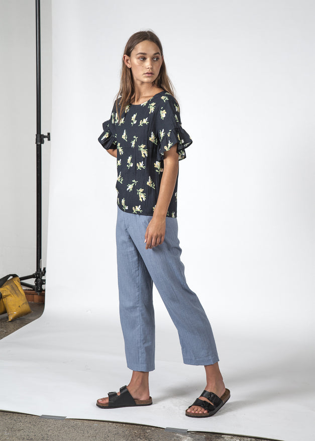 THE DILLY TOP JASMIN FLORAL