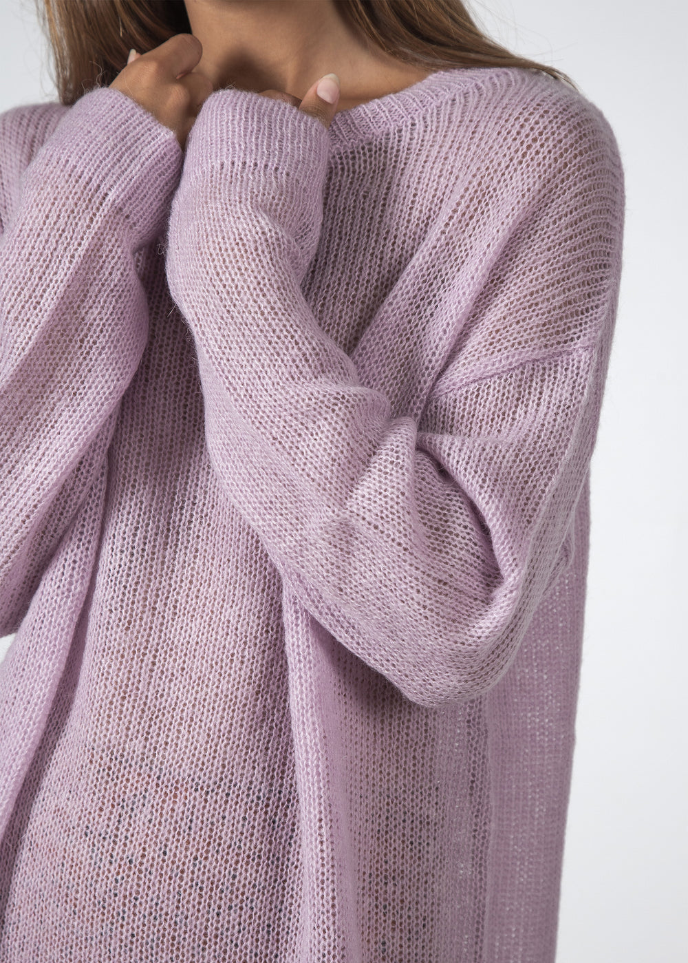THE BOWIE SWEATER LAVENDER