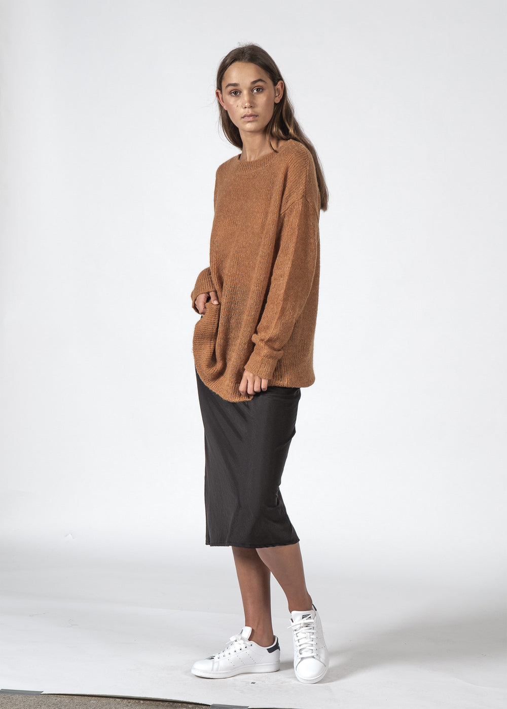 THE BOWIE SWEATER OCHRE