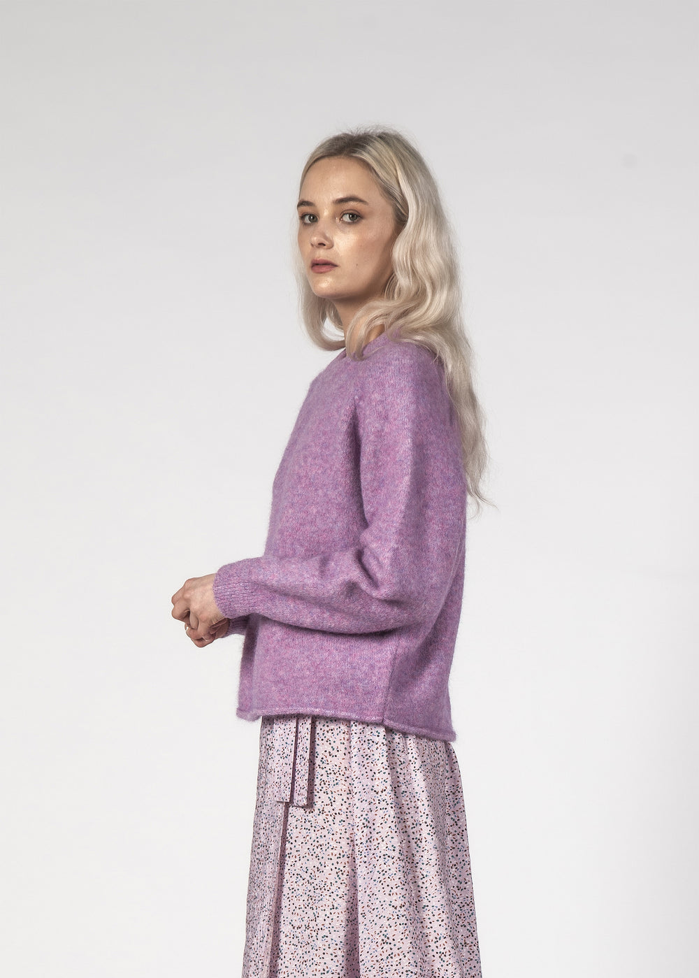 MILA JUMPER - PURPLE SPEC