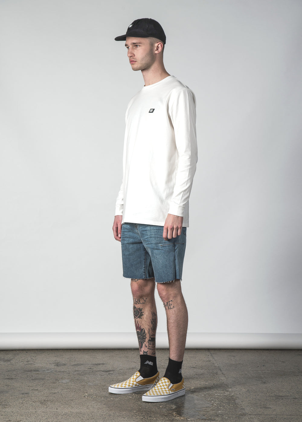 HALT DENIM SHORT LIGHT WASH