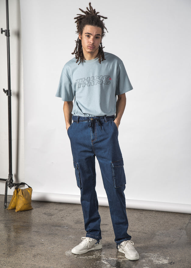 Field Jean Blue Wash