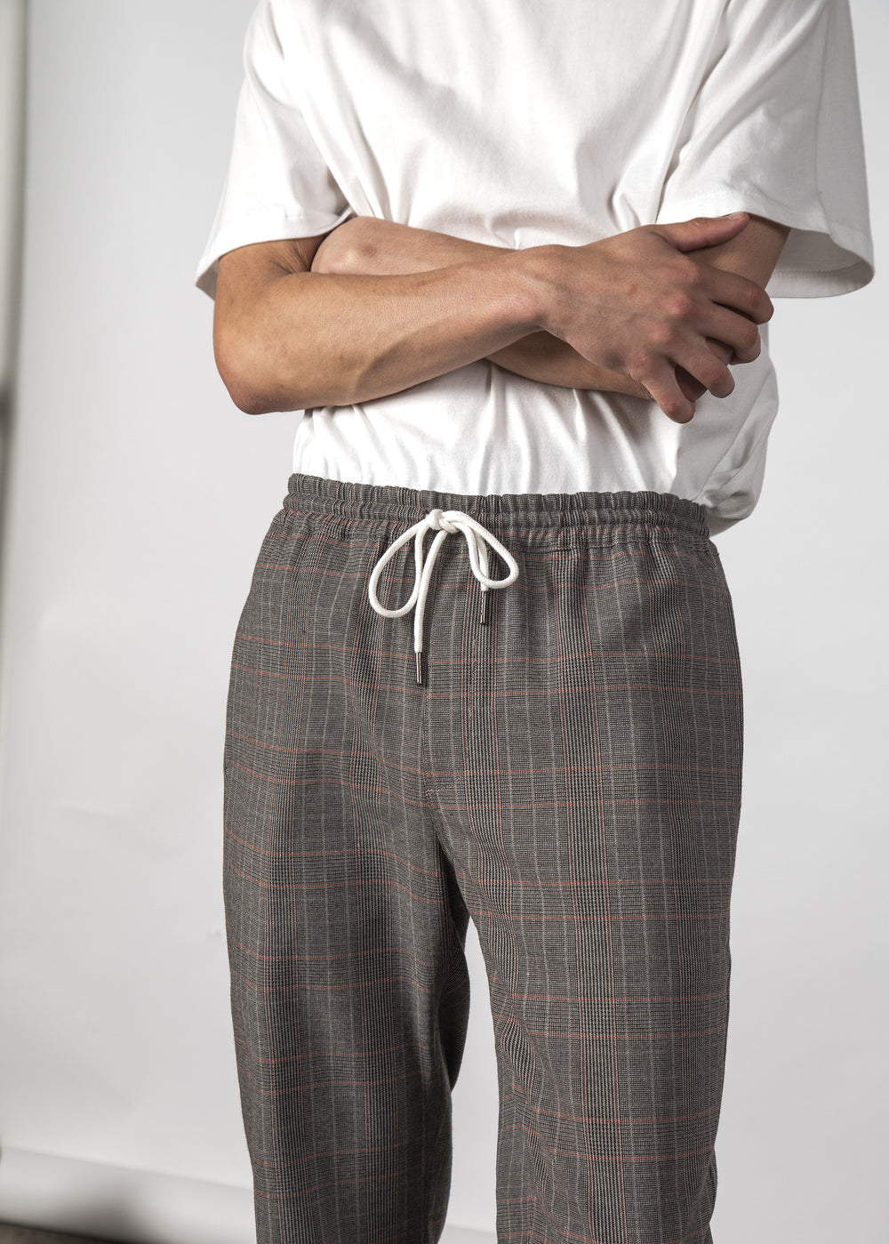 BETA PANT CARBON PLAID
