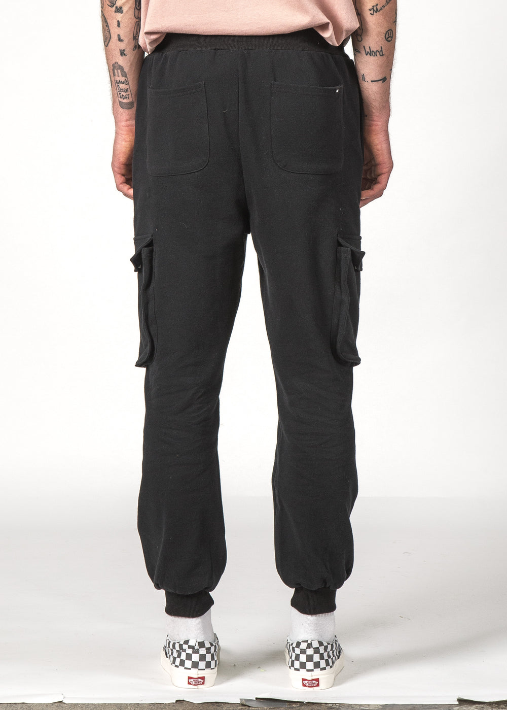 Set Cargo Trackie Black