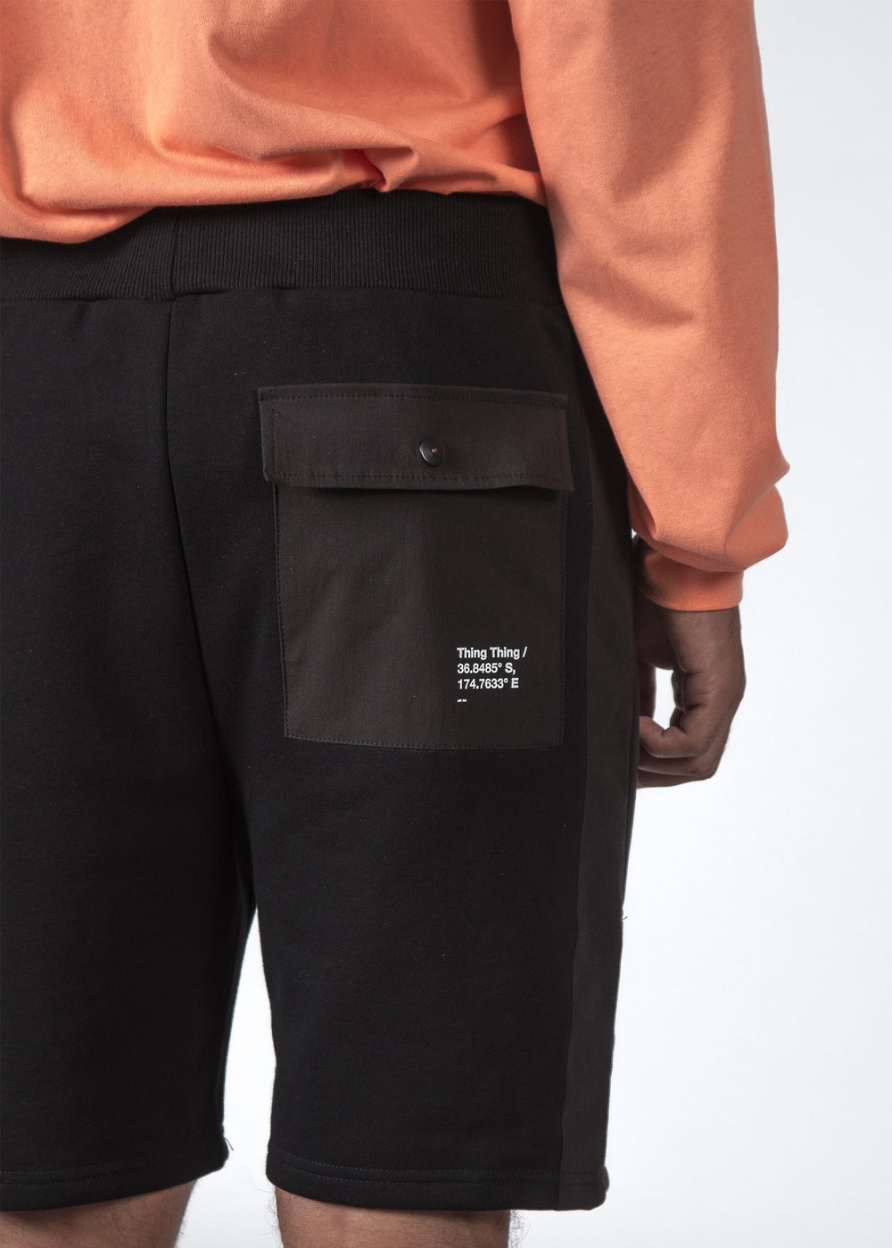 THE KILO TRACK SHORT BLACK
