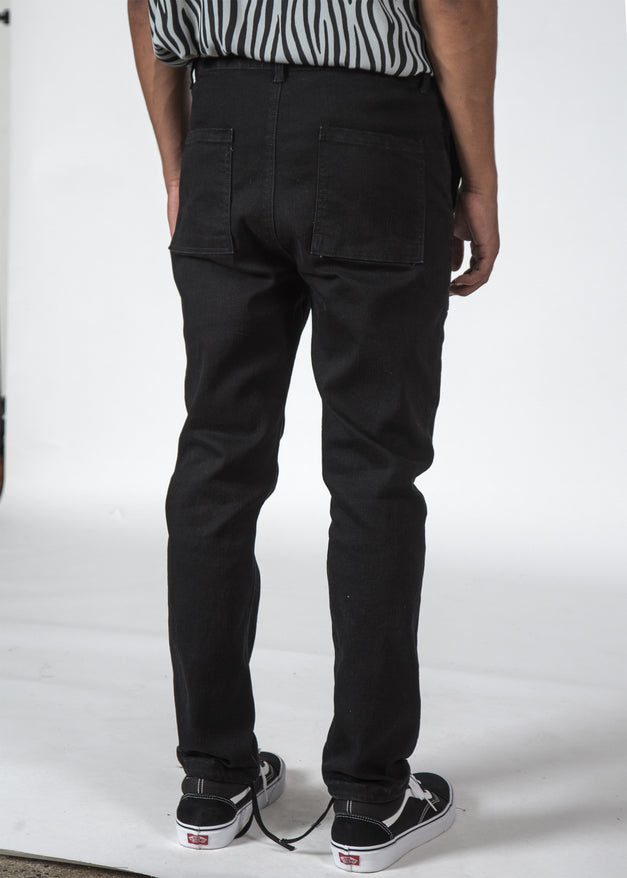 THE FATIGUE JEAN BLACK WASH