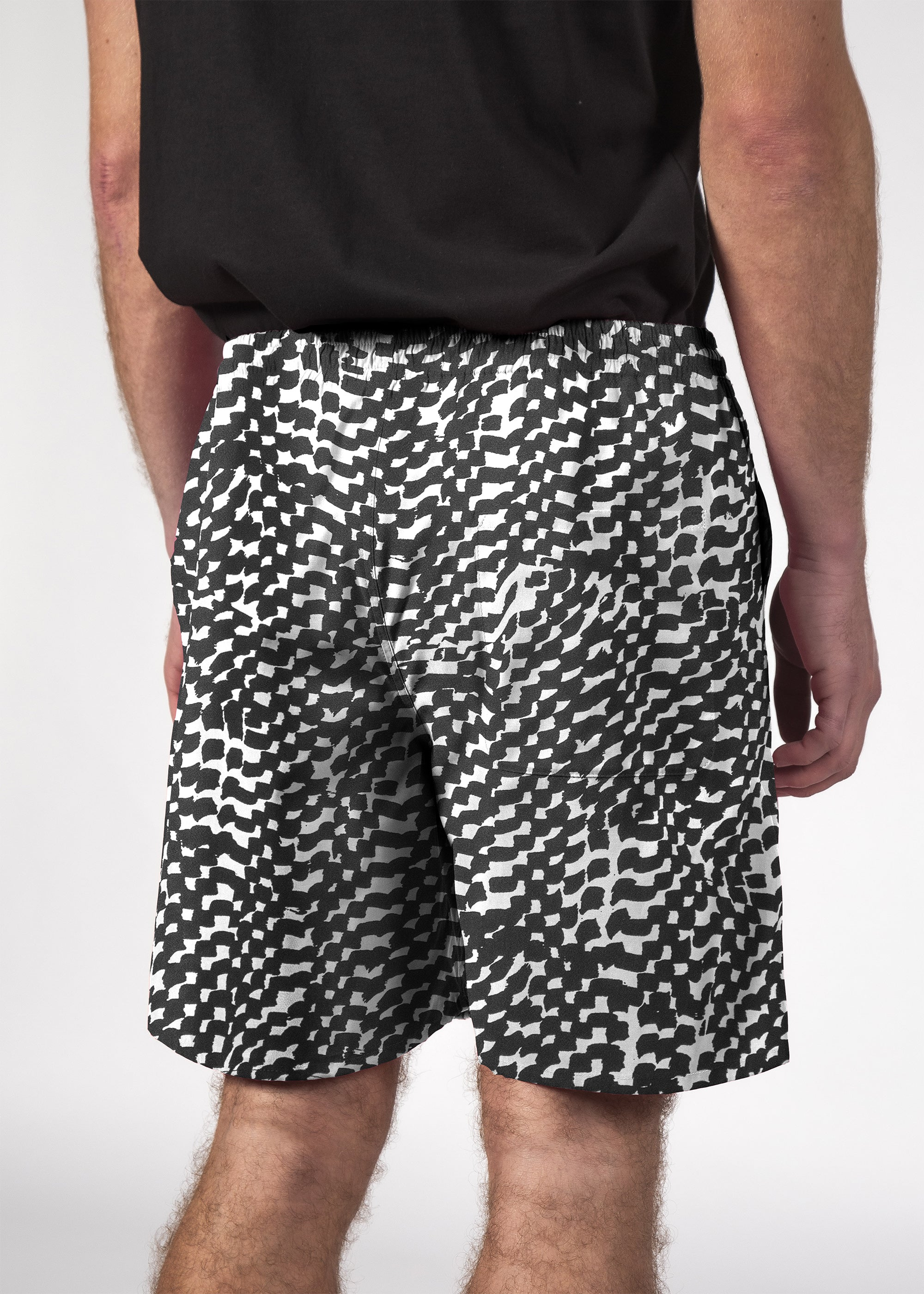 NAUT SHORT BLACK XEROX