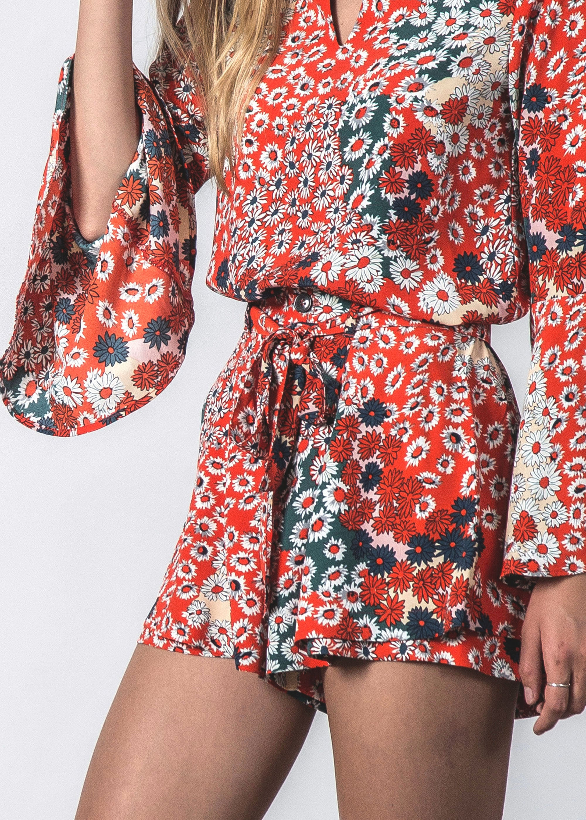 TIMELESS SHORT CANDY FLORAL