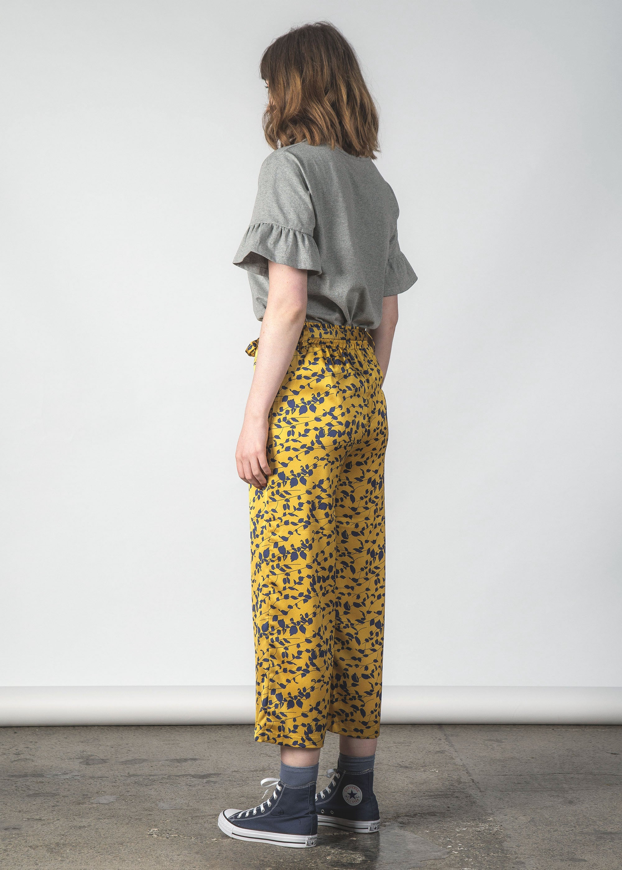 FLUSH PANT CANARY FLORAL