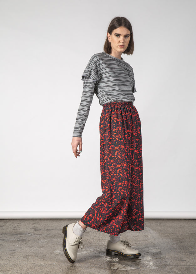SAIL PANT GLOWING FLORAL