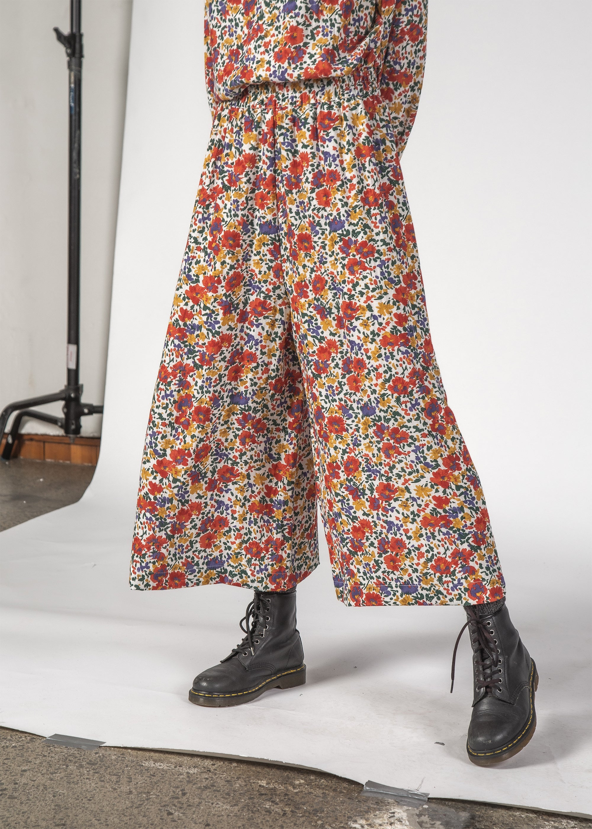 COCO PANT - INKY FLORAL
