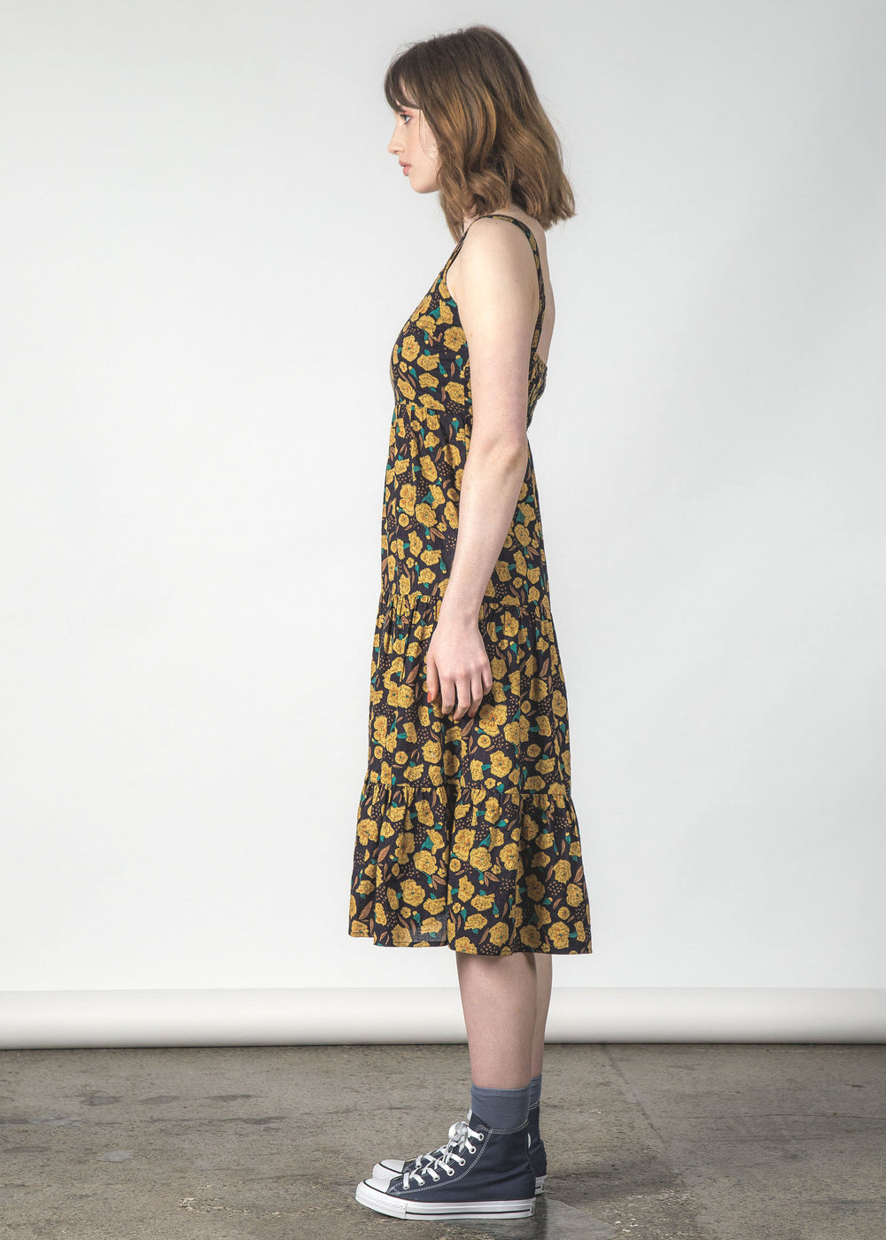 SUNDOWNER DRESS MARIGOLD