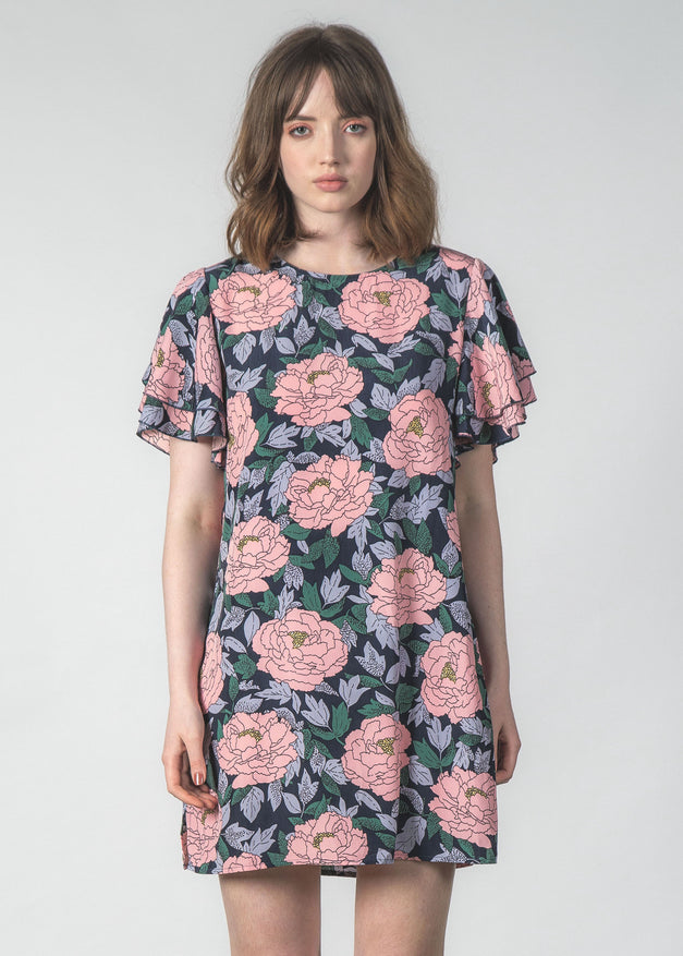 TINKER DRESS BLUSH PEONY