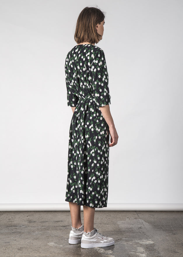 WILLOWWRAP DRESS SNOWDROP