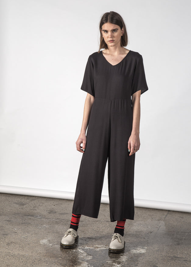 ZEPHYR JUMPSUIT BLACK