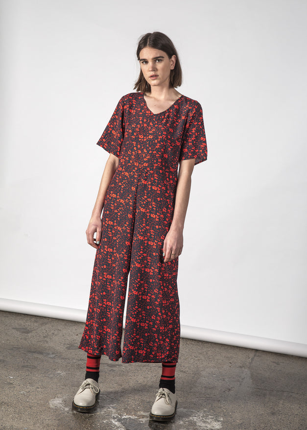 ZEPHYR JUMPSUIT GLOWING FLORAL
