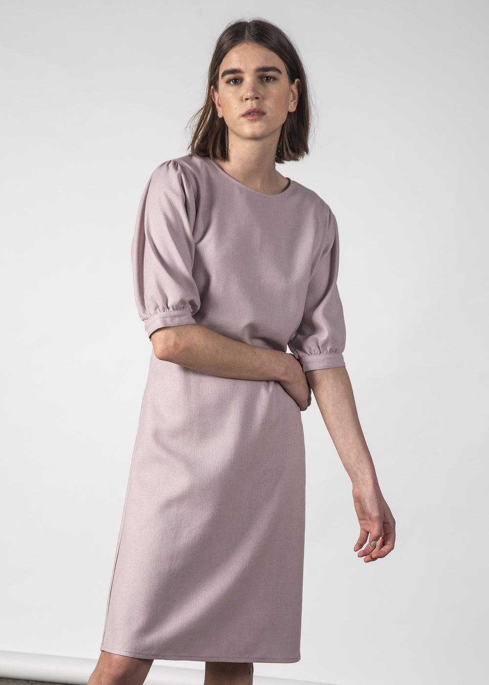 MOON DRESS MAUVE