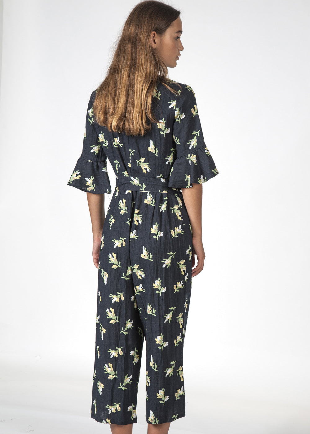 THE FREYA JUMPSUIT JASMIN FLORAL