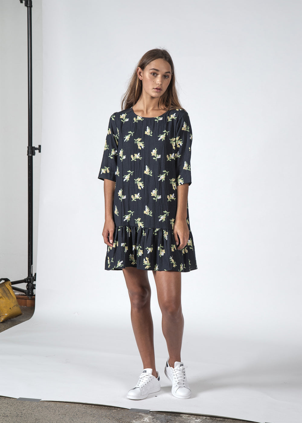 THE PHOEBE DRESS JASMIN FLORAL